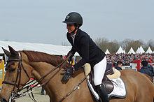 Janika Sprunger lobt Electra van't Roosakker (April 2013)