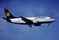 134bc - Lufthansa Boeing 737-530; D-ABIE@ZRH;23.06.2001 (5164312522).jpg