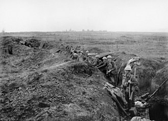 4th Division (Australia) - 4th Division troops at Le Verguier, France, September 1918
