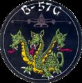 13th Bomb Squadron B-57G emblem 1970.png