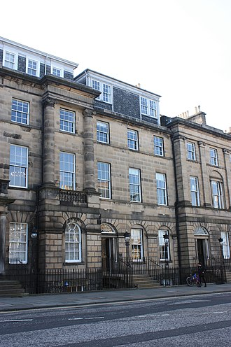 Henry Cockburn, Lord Cockburn - 14 Charlotte Square, Edinburgh, the town house of Lord Cockburn