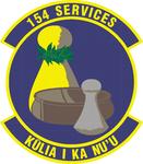 154 Services Flt emblem.png