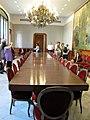 159 Casa Alegre de Sagrera (Terrassa), taula del menjador.JPG