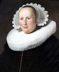 Portrait of Maertgen van Bilderbeecq, Wife of Willem Burggraeff