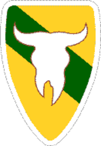 Montana Army National Guard - Insignia of the 163rd Armored Brigade