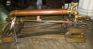 Steam cannon - Experimental prototype of 17.5 mm steam cannon. Russian Empire, 1826-29 years.