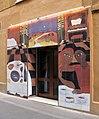 177 Fonda Europa (Granollers), entrada lateral, mural d'Agnès Bordas.jpg