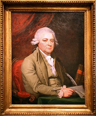 Harding's Gallery (Boston) - Image: 1788 John Adams by Mather Brown