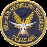 181st Air Refueling Squadron - Emblem