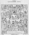 1880 sketch Temptation of Buddha Cave 26 Ajanta Maharashtra India.jpg