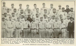 1914 St. Louis Browns season - The 1914 St. Louis Browns.