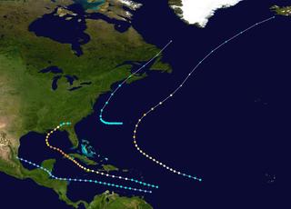 1917 Atlantic hurricane season hurricane season in the Atlantic Ocean