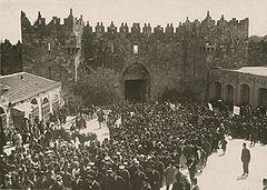 1920 demontration Palestine