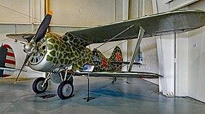 1938 Polikarpov I-153 s-n 6316 Chaika - 2nd Aviation Fighter Squadron of the Northern Navy (30481864715).jpg