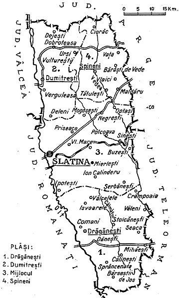 fișier 1938 map of interwar county olt jpg wikipedia