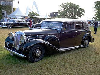 Daimler Straight-Eight engines - 5½-litre Thirty-Six 1948 example allweather in royal livery