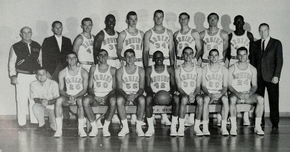 1963 64 UCLA Bruins Mens Basketball Team