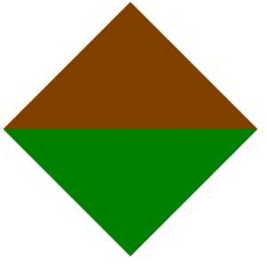 19th Battalion (Australia) - Image: 19th Battalion AIF Unit Colour Patch