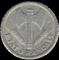 1 franc état français avers.png