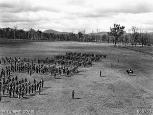 2/1st Battalion (Australia) - Troops from the 2/1st at Wondecla, Queensland, April 1944