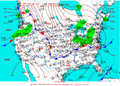 2003-01-14 Surface Weather Map NOAA.png