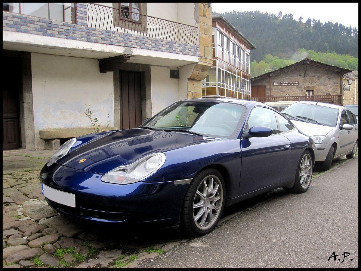 Porshe 911 Turbo >> Porsche 996 - Wikipedia