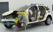 The Insurance Institute For Highway Safety Iihs Uses Its Crash Tested  Edge Sel To Demonstrate Well Designed Crash Safety