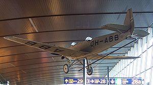 Junkers A50 - A50ce in Helsinki-Vantaa, departure hall, gate 28