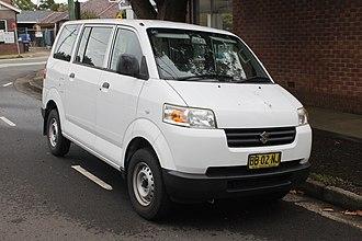 Suzuki IndoMobil Motor - Image: 2009 Suzuki APV (GD) van (26579899112)