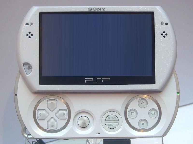 파일:2009 Taipei IT Month Day1 Sony PSPgo white.jpg