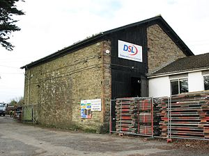 Perranwell railway station - The old goods shed