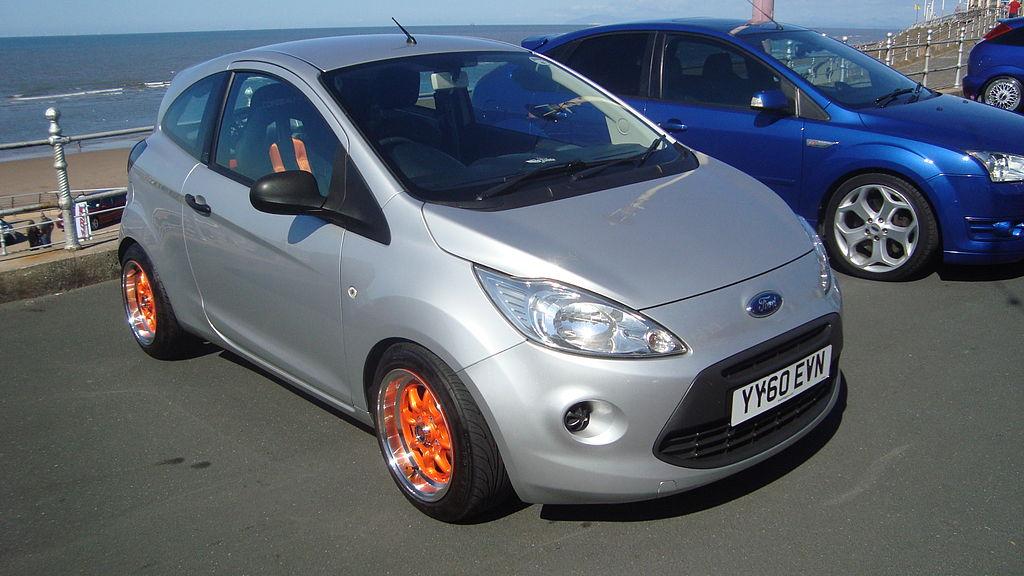 Ford Ka Studio For First Car