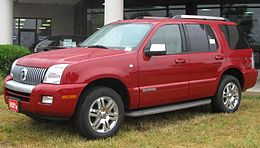 Un Mercury Mountaineer del 2010