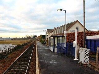 Exton railway station Railway station in the Devon, England