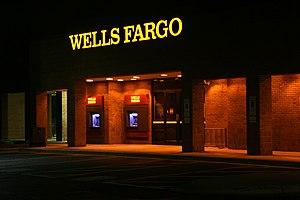 Wachovia - A Wells Fargo branch in Durham, North Carolina; previously a Wachovia branch until 2011.