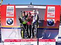 2011 Rogla FIS Cross-Country World Cup, podium (4).jpg