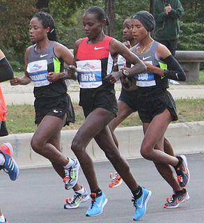 Atsede Baysa Ethiopian marathon runner
