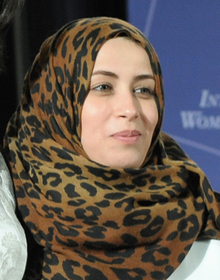 2012 IWOC Award Winner Hana El Hebshi of Libya (cropped).png