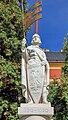 2012 Marklowice Dolne, Pomnik św. Wacława 02.jpg