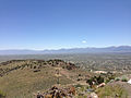"2014-06-13 12 21 14 View east-southeast from the summit of ""E"" Mountain in the Elko Hills of Nevada.JPG"