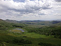 2014-06-24 14 33 21 View south across Copper Basin from Elko County Route 748 (Charleston-Jarbidge Road) about 18.5 miles north of Charleston Reservoir.JPG