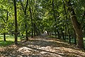 2014 Tarnobrzeg, Zamek Tarnowskich, park, 02.JPG
