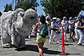 2015 Fremont Solstice parade - Polar bear 04 (18687344144).jpg