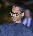 2015 White House Astronomy Night by Harrison Jones 03 (cropped to Ahmed Mohamed shoulders).jpg