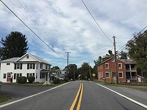 Johnsville, Maryland - MD 75 through Johnsville