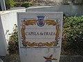 2017-09-24 Name sign, Capela da Orada.JPG