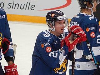 Sakari Manninen Finnish ice hockey player