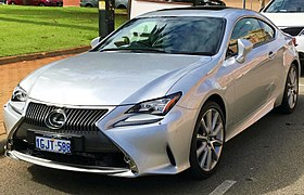 2017 Lexus RC 350 (GSC10R) Sports Luxury Coupe (2018 03 27