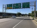 2018-07-19 09 29 00 View south along New Jersey State Route 17 at the exit for Hasbrouck Heights in Hackensack, Bergen County, New Jersey.jpg