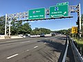 2018-07-31 08 00 51 View west along Interstate 80 at Exit 37 (Morris County Route 513, Hibernia, Rockaway) in Rockaway Township, Morris County, New Jersey.jpg